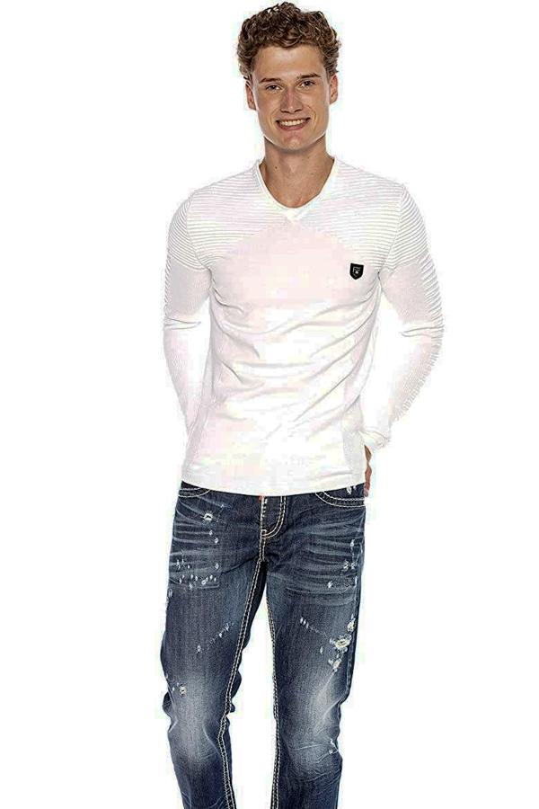 Sweter Cipo Baxx CP225 White