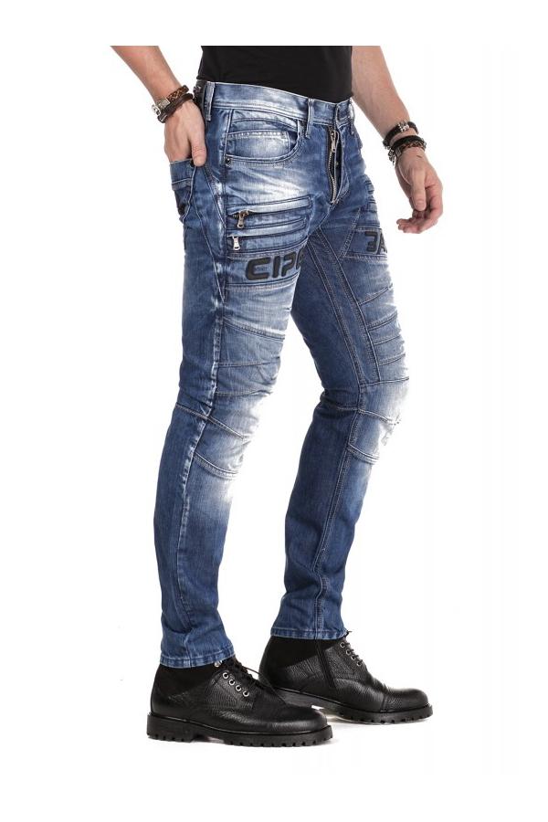 Spodnie Jeans Cipo Baxx CD491
