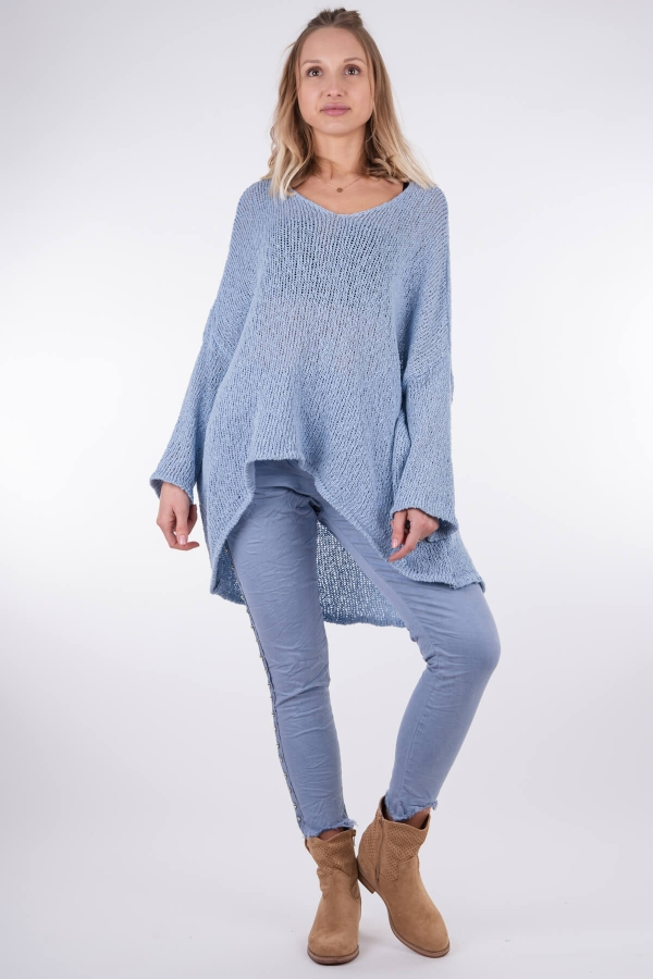 Sweter wiosenny oversize...